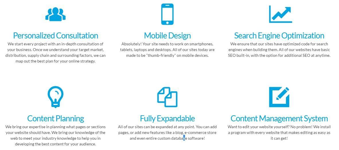 Advantace design features